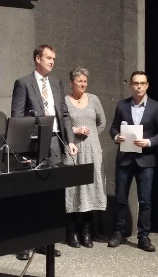 Michael Mann, Vilborg Davíðsdóttir og Rúnar Snær Reynisson